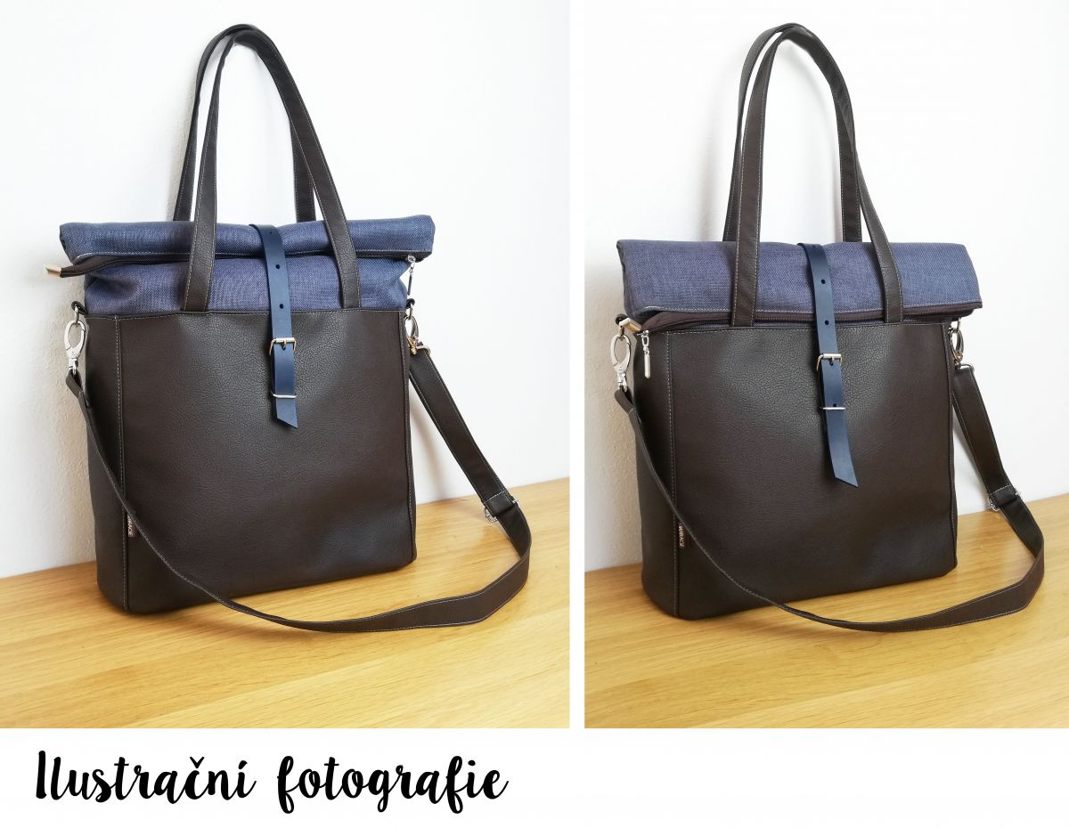 Livia roll top bag n.9