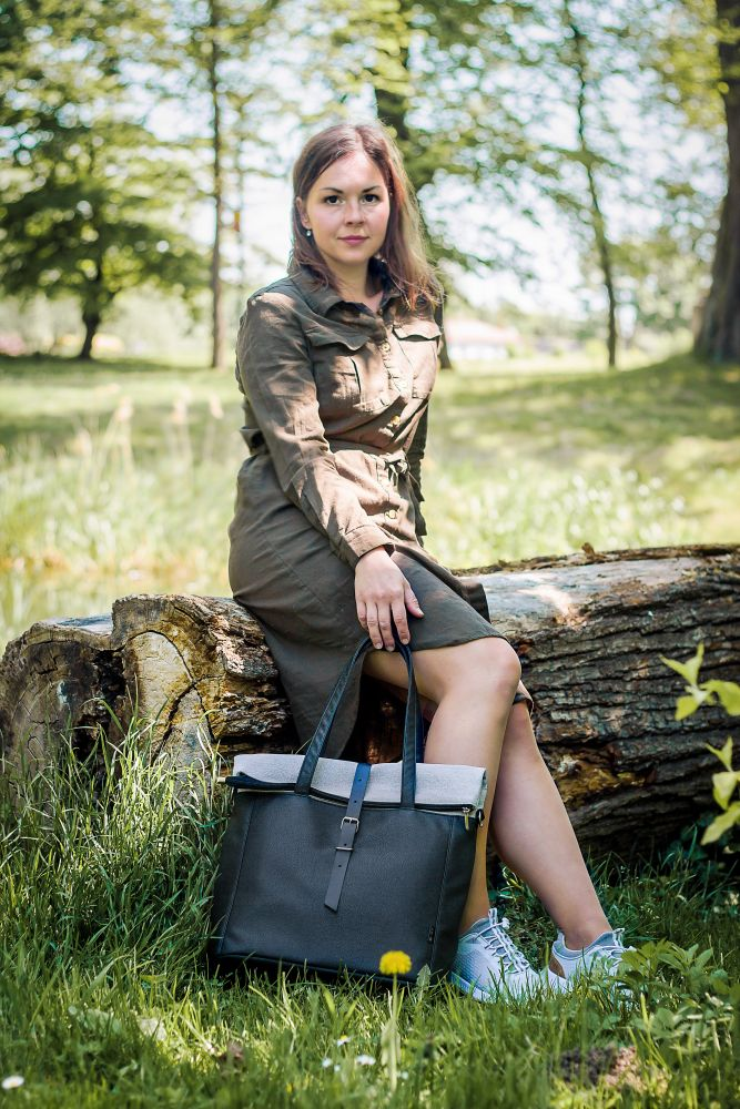 Livia roll top bag n.11