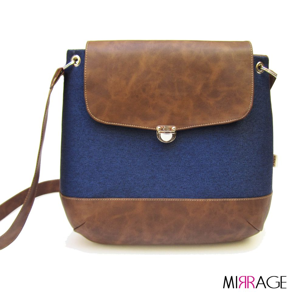 Grace n.23 blue & brown