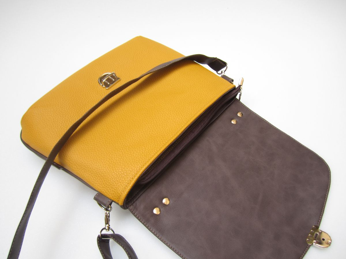 Ellis n.15 mustard & brown