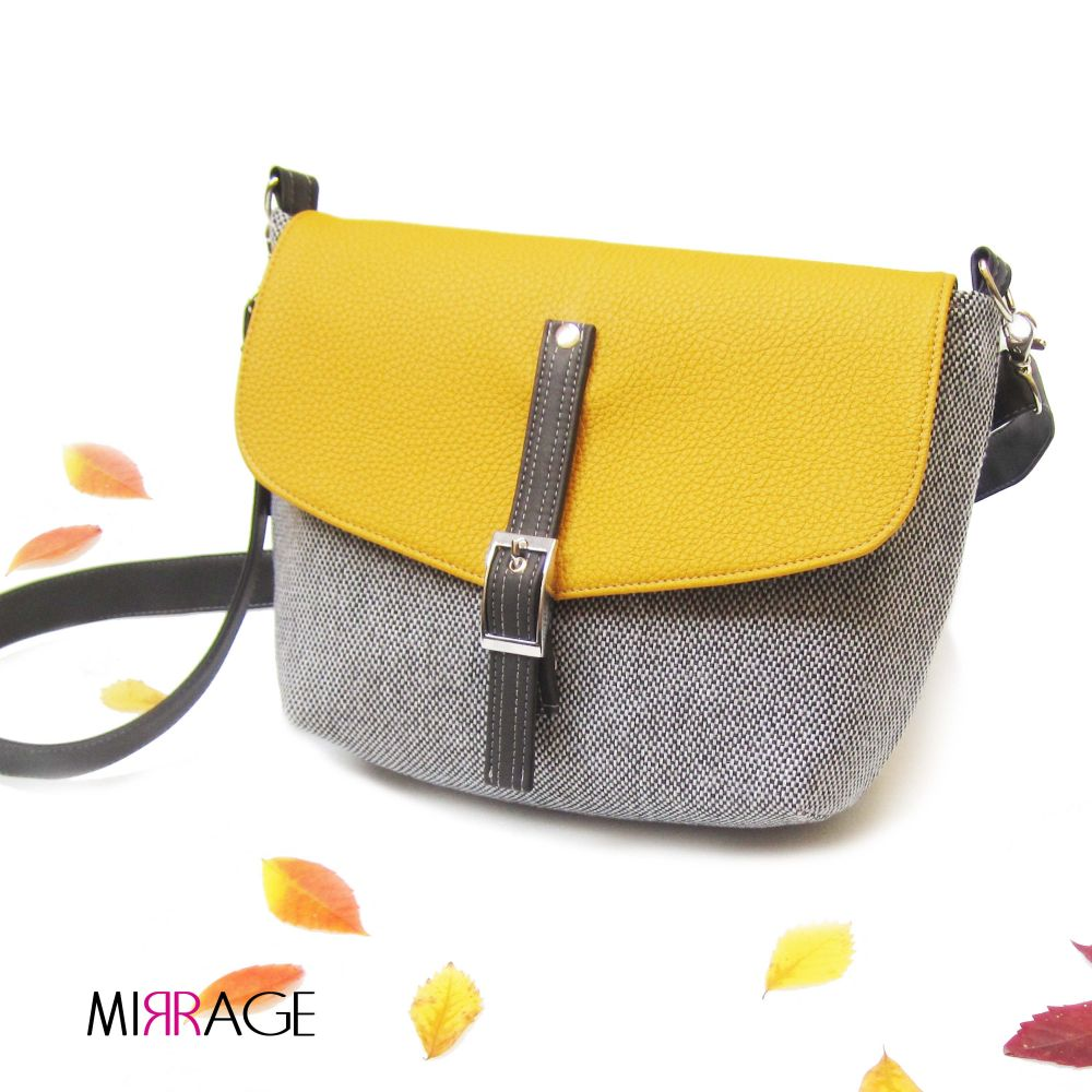 Cameron n.40 mustard yellow & grey
