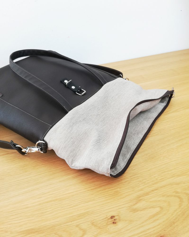 Livia roll top bag n.1